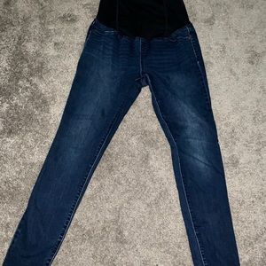 Skinny Maternity Jeans with belly panel